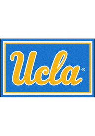 UCLA Bruins 4x6 Plush Interior Rug