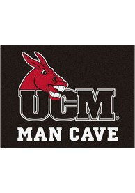 Central Missouri Mules 34x42 Man Cave All Star Interior Rug