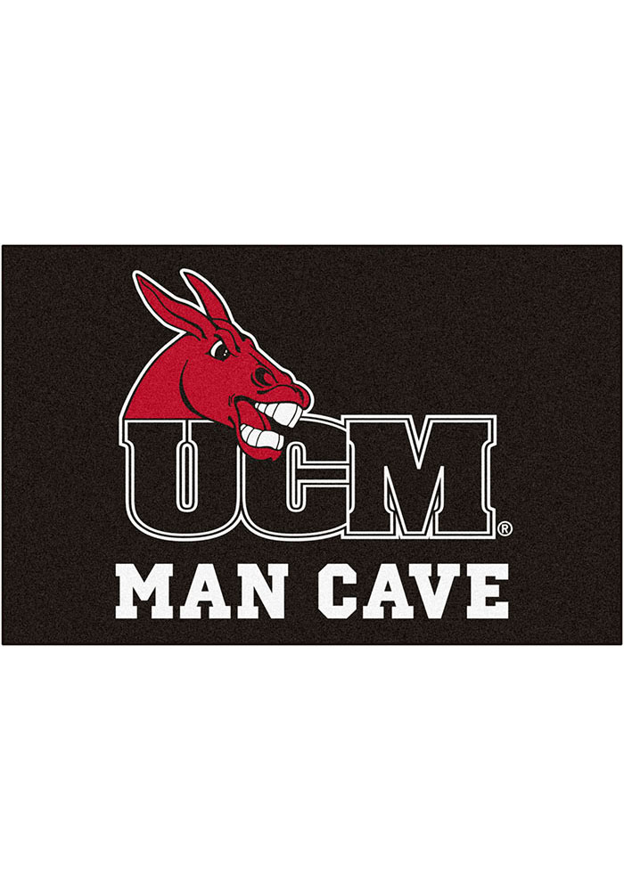 Central Missouri Mules 19x30 Man Cave Starter Interior Rug - Image 1