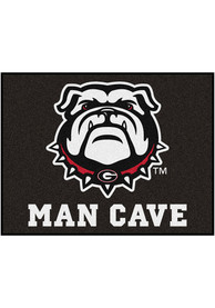 Georgia Bulldogs 34x42 Man Cave All Star Interior Rug