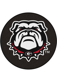 Georgia Bulldogs 27 Hockey Puck Interior Rug