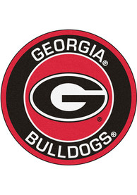 Georgia Bulldogs 27 Roundel Interior Rug