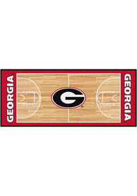 Georgia Bulldogs 30x72 Court Runner Interior Rug