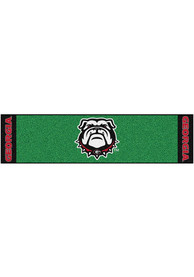 Georgia Bulldogs 18x72 Putting Green Runner Interior Rug