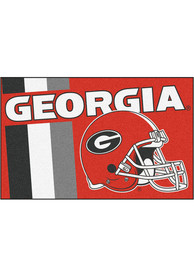 Georgia Bulldogs 19x30 Uniform Starter Interior Rug