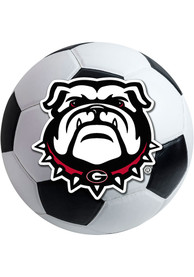 Georgia Bulldogs 27 Soccer Ball Interior Rug