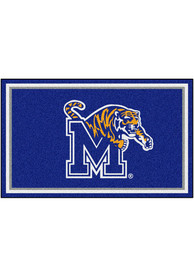 Memphis Tigers 4x6 Plush Interior Rug