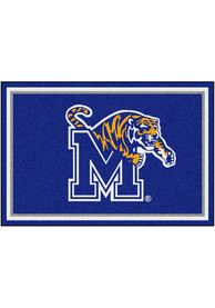 Memphis Tigers 5x8 Plush Interior Rug