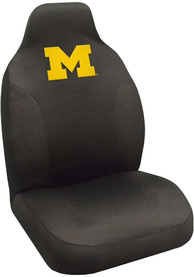 Sports Licensing Solutions Michigan Wolverines Team Logo Car Seat Cover - Black