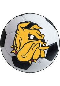UMD Bulldogs 27 Soccer Ball Interior Rug