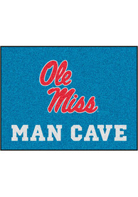 Ole Miss Rebels 34x42 Man Cave All Star Interior Rug