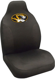 Sports Licensing Solutions Missouri Tigers Team Logo Car Seat Cover - Black