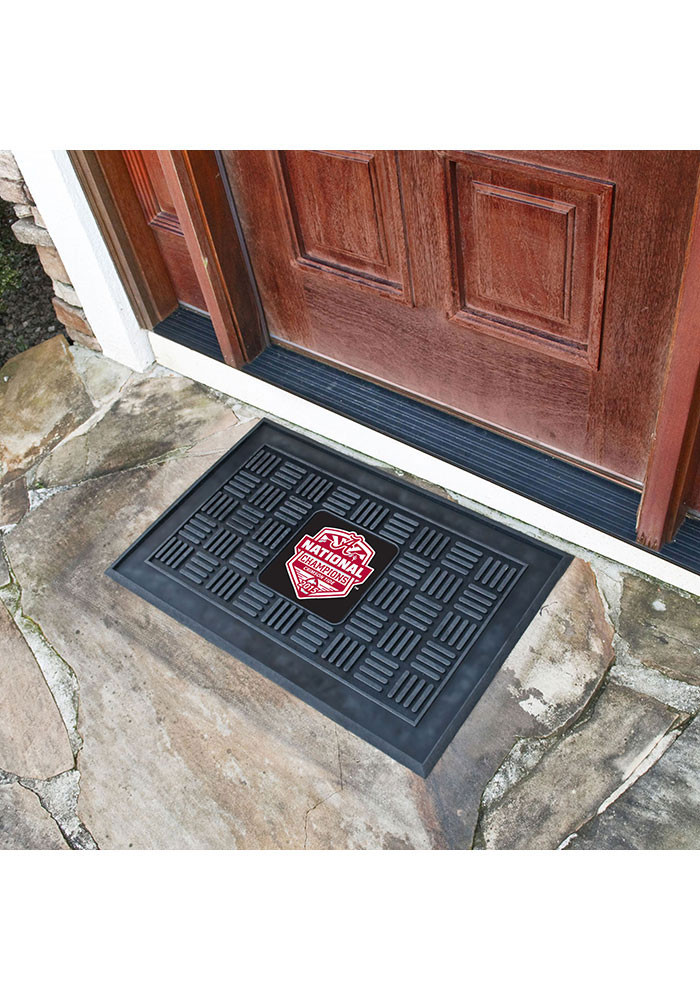 Alabama Tide National Champions Vinyl Door Mat - Image 1