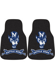 Sports Licensing Solutions Nevada Wolf Pack 2-Piece Carpet Car Mat - Navy Blue