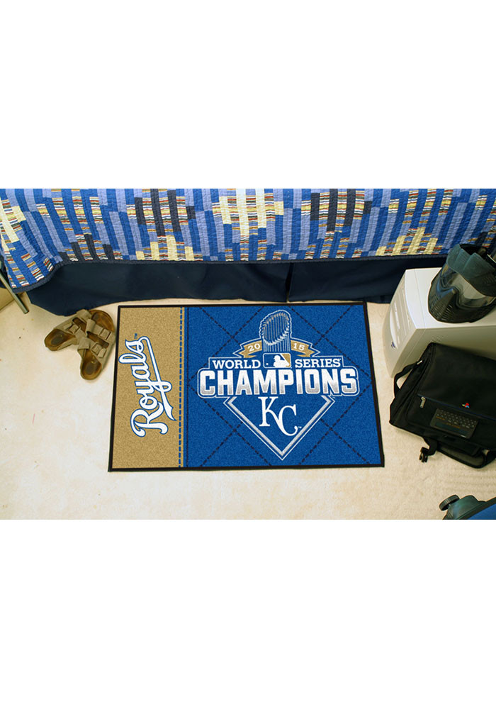 World Series Champions Royals Starter Rug - Image 1