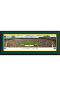 Green Bay Packers 50 Yard Line Deluxe Framed Posters