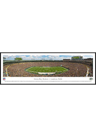 Green Bay Packers 50 Yard Line Standard Framed Posters