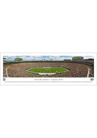 Green Bay Packers 50 Yard Line Unframed Poster