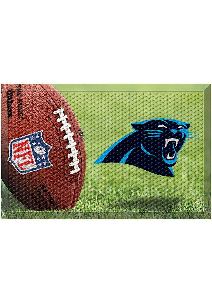 Carolina Panthers 19x30 Door Mat - Image 1