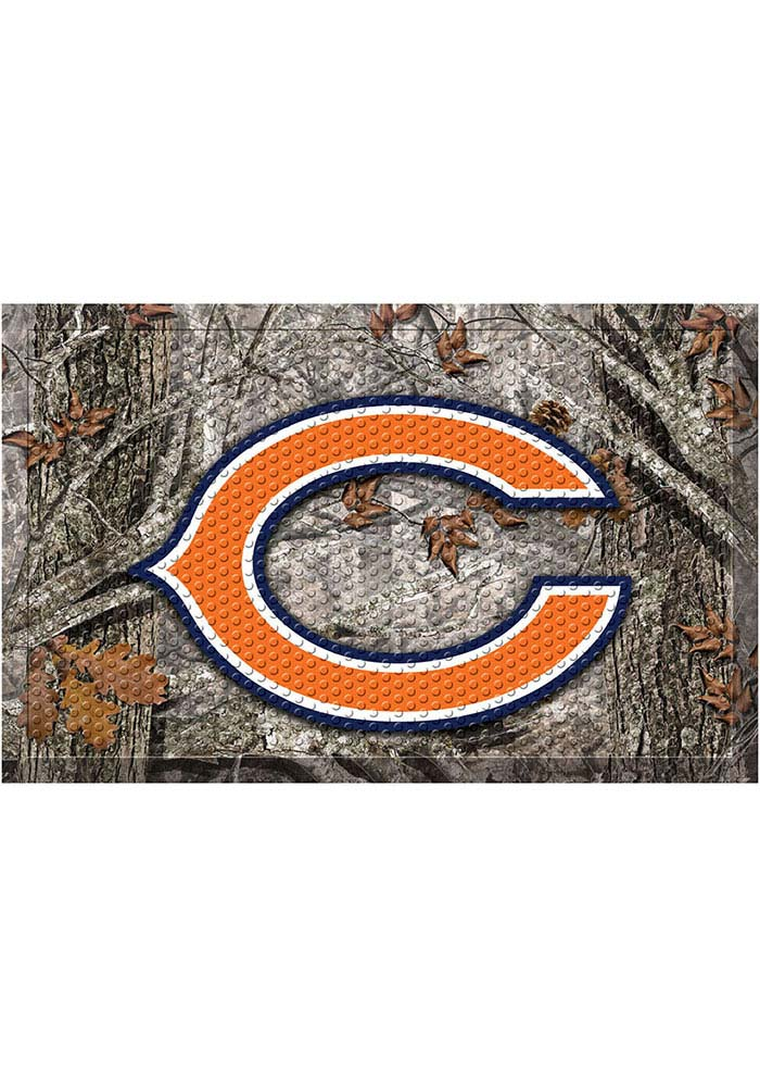 Chicago Bears 19x30 Door Mat - Image 1
