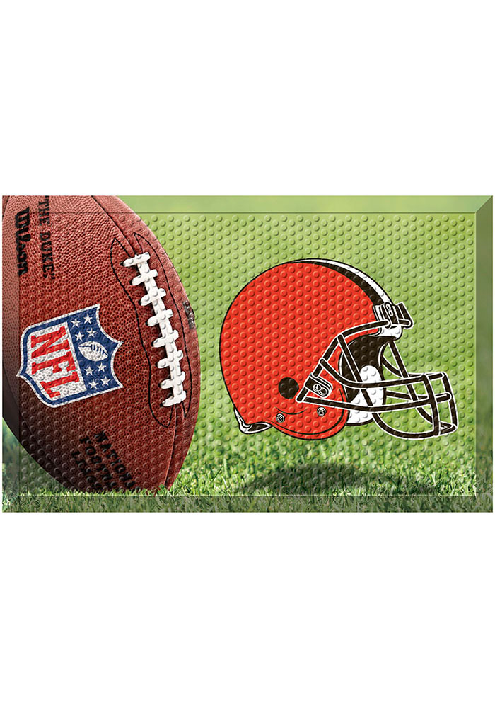 Cleveland Browns 19x30 Door Mat - Image 1