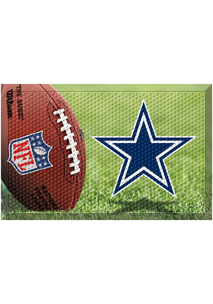 Dallas Cowboys 19x30 Door Mat - Image 1