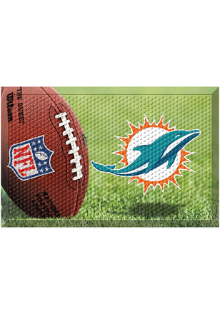 Miami Dolphins 19x30 Door Mat