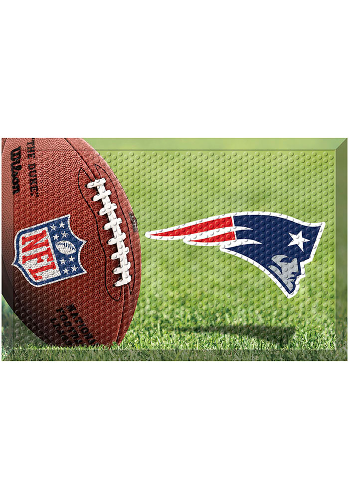 New England Patriots 19x30 Door Mat - Image 1