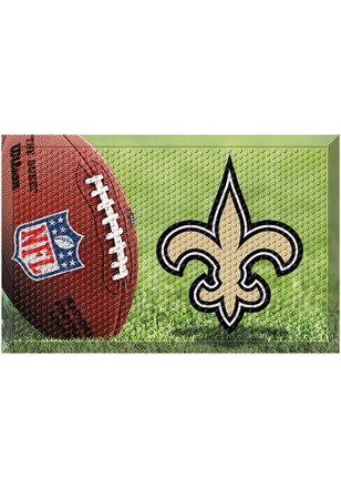New Orleans Saints 19x30 Door Mat