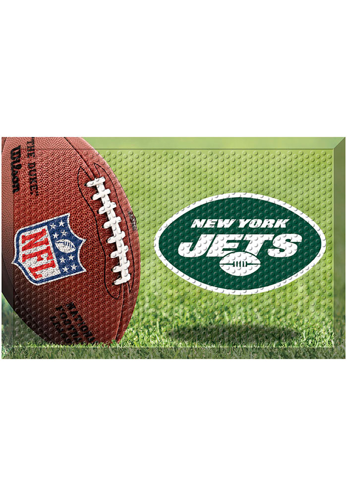 New York Jets 19x30 Door Mat - Image 1