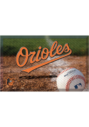 Baltimore Orioles 19x30 Door Mat