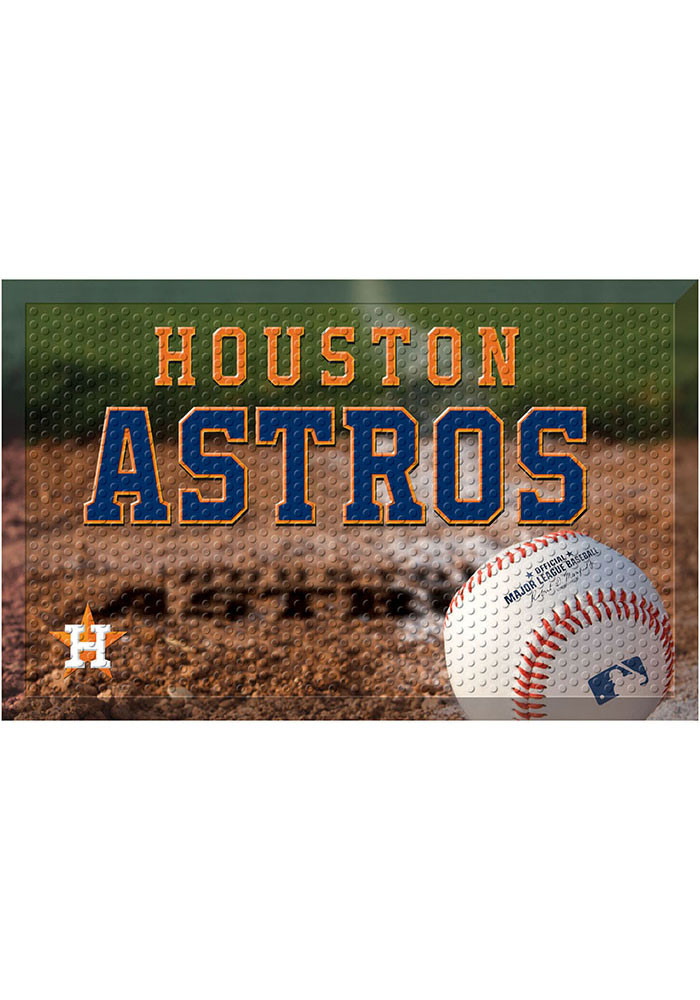 Houston Astros 19x30 Door Mat - Image 1