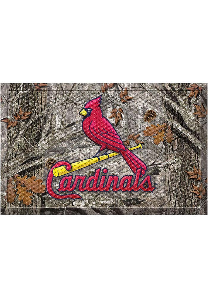 St Louis Cardinals 19x30 Door Mat - Image 1