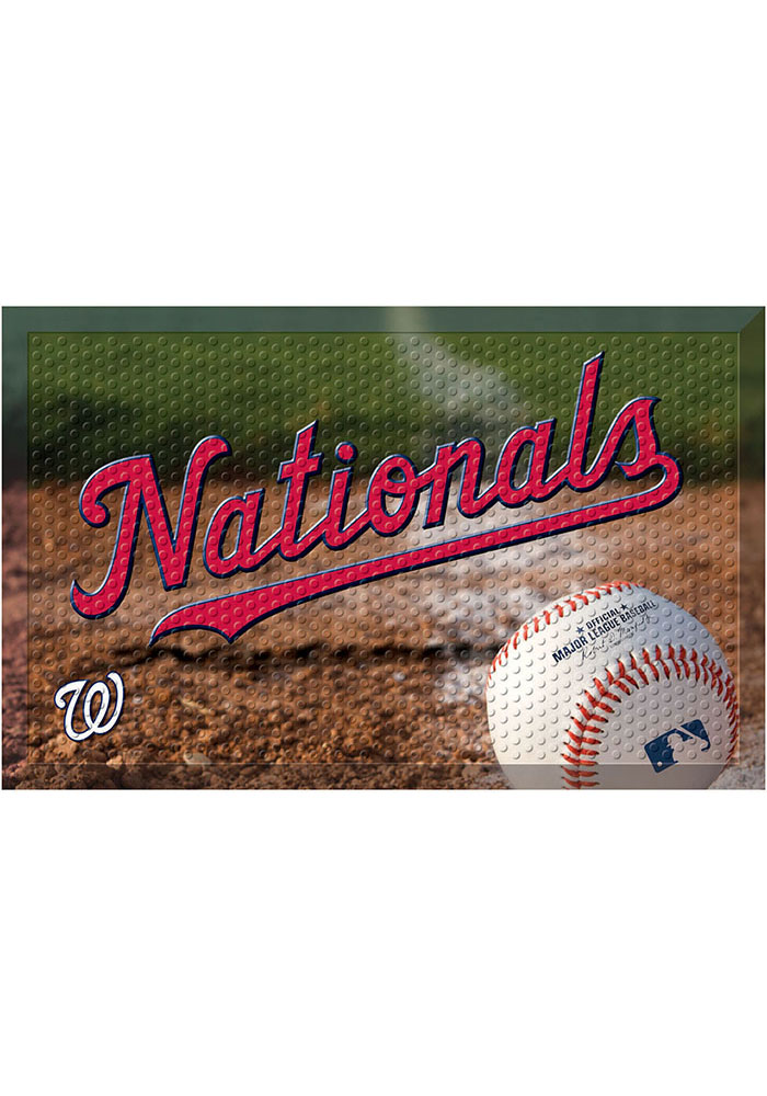 Washington Nationals 19x30 Door Mat - Image 1