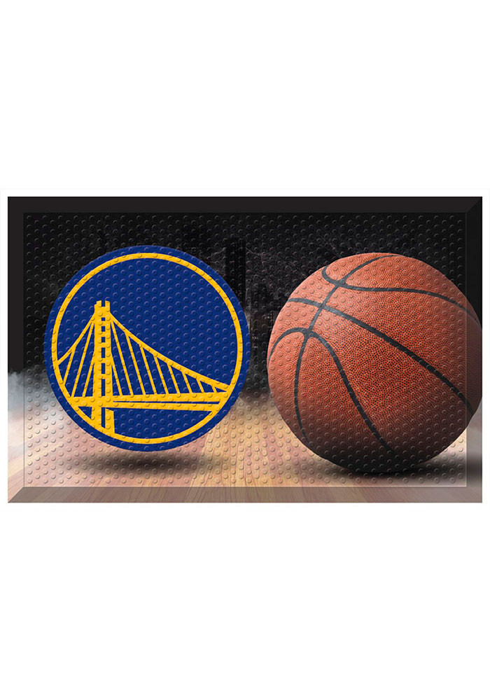 Golden State Warriors 19x30 Door Mat - Image 1