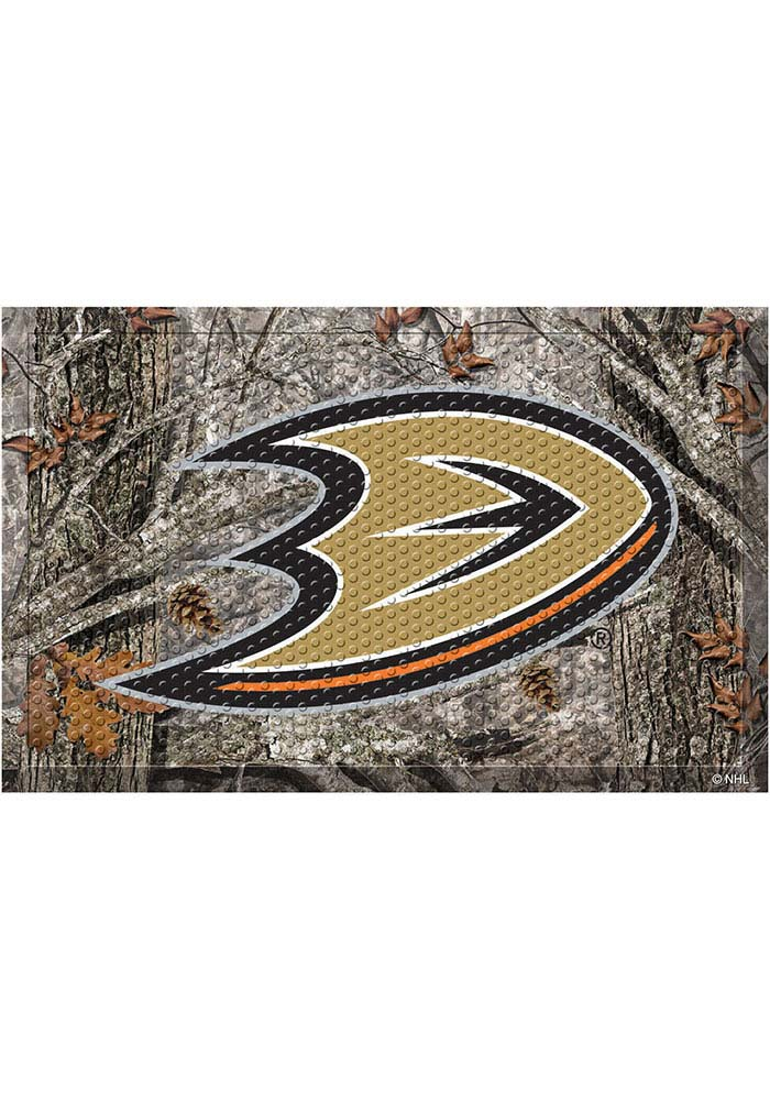 Anaheim Ducks 19x30 Door Mat - Image 1