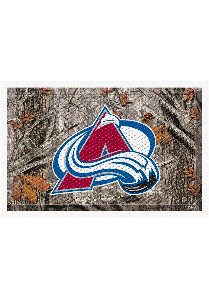 Colorado Avalanche 19x30 Door Mat - Image 1