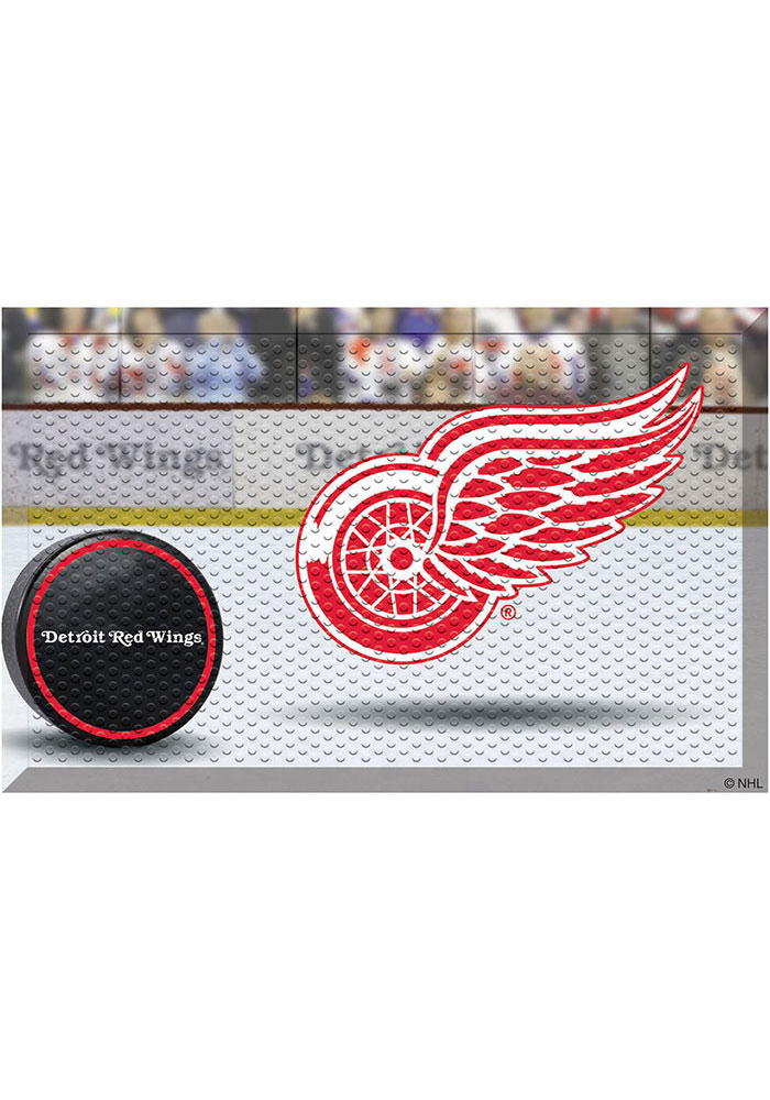Detroit Red Wings 19x30 Door Mat - Image 1