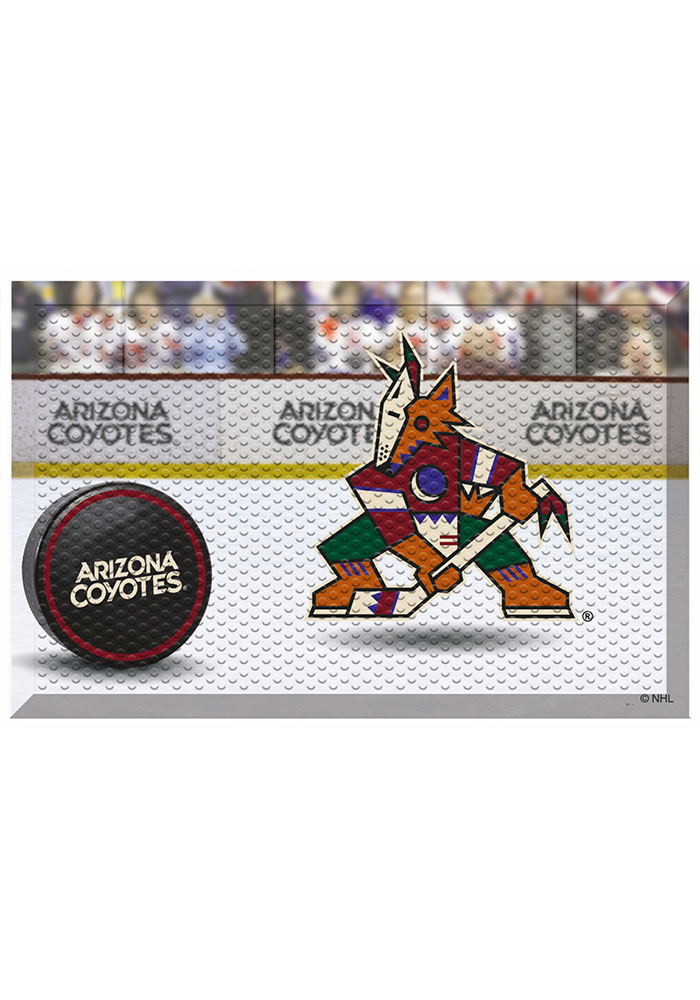 Arizona Coyotes 19x30 Door Mat - Image 1