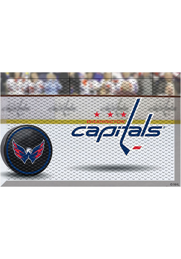 Washington Capitals 19x30 Door Mat - Image 1