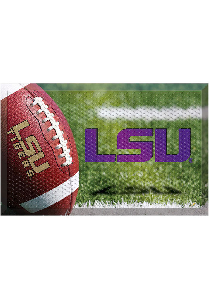 LSU Tigers 19x30 Door Mat - Image 1