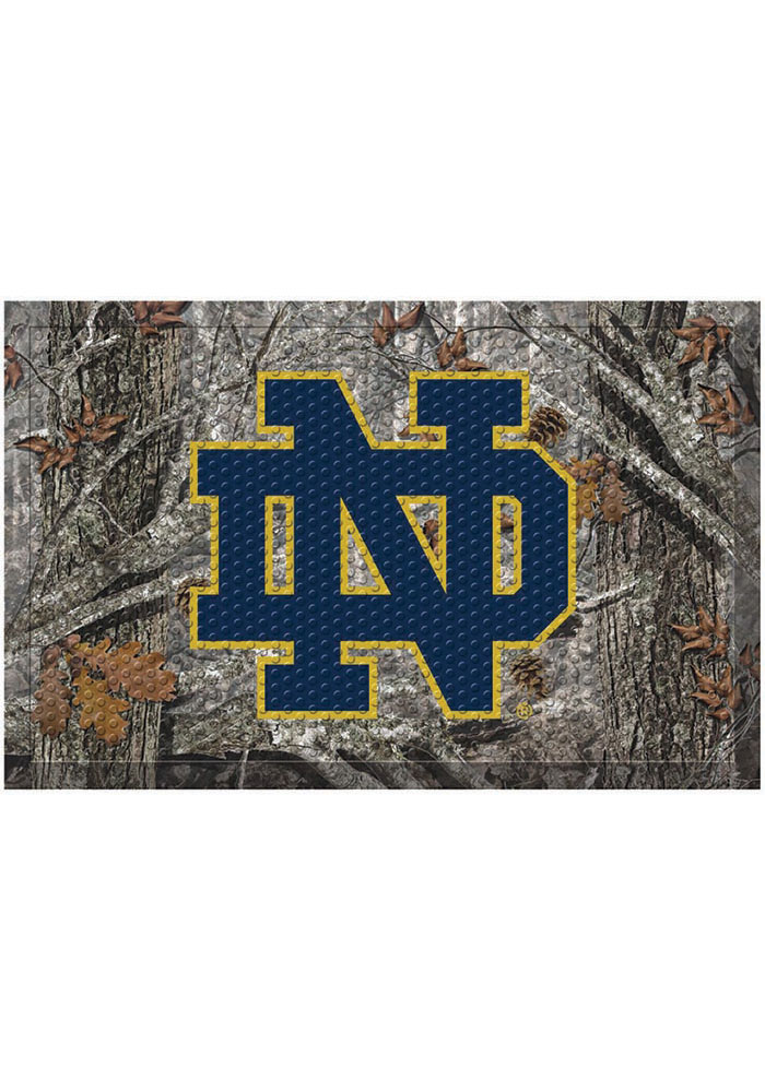 Notre Dame Fighting Irish 19x30 Door Mat - Image 1