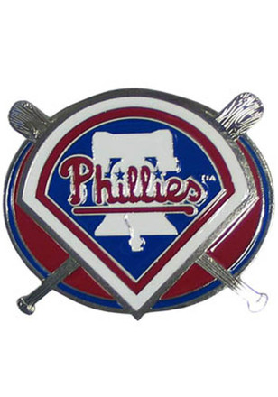 Philadelphia Phillies Silver Bats Car Accessory Hitch Cover