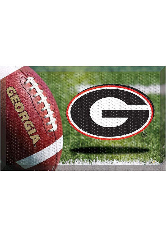 Georgia Bulldogs 19x30 Door Mat - Image 1