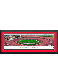 Georgia Bulldogs Sanford Stadium Panoramic Deluxe Framed Posters