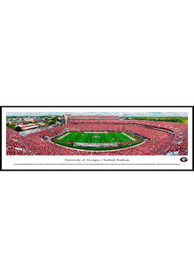 Georgia Bulldogs Sanford Stadium Panoramic Standard Framed Posters