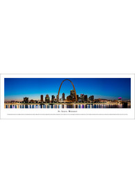 St Louis Skyline Panoramic Unframed Poster