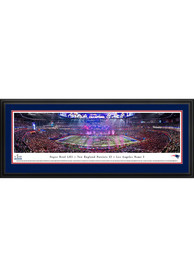 New England Patriots Super Bowl LIII Champions Celebration Deluxe Framed Posters