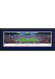 New England Patriots Super Bowl LIII Kickoff Deluxe Framed Posters