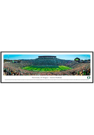 Oregon Ducks Football 50 Yard Line Standard Framed Posters